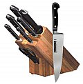 Forschner 8 piece knife oak block set #48890