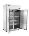 Atosa Reach-In Freezer Two-Section, Self-Contained Refrigeration