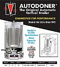 AutoDoner 45 lb. Automatic Vertical Broiler #G-300