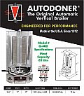 AutoDoner 65 lb. Automatic Vertical Broiler #G-400