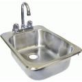 GSW Drop-In Hand Sink Space Saver #HS-1317IHG