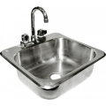 GSW Drop-In Hand Sink #HS-1615IHG