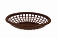"Johnson Rose Basket 7-3/4"", Brown #80713"