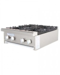 Radiance 4 Burner Hot Plate, LP #TAHP-24-4-LP