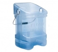 Rubbermaid ProServe Ice Tote 5-1/2 Gal #FG9F5300TBLUE