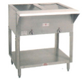 Supreme Metal Steam Table 2 Comp. Gas HF-2G