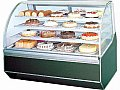 Turbo Air Curved Glass Bakery Case 4' TB-4R