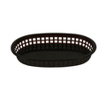 "Thunder Black Fast Food Basket 10-3/4"" - #PLBK1034K"