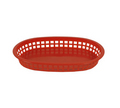 "Thunder Red Fast Food Basket 10-3/4"" - #PLBK1034R"