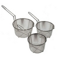 "Update 11-1/2"" Round Wire Fry Baskets FB-11"