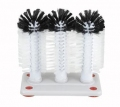 Winco Triple Glass Wash Brush #GWB-3