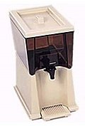 Beverage Dispenser Amber by Rubbermaid 3 Gal.