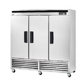 Blue Air Three Door Stainless Freezer Bottom Mount - BSF72