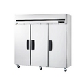 Blue Air Three Door Stainless Freezer - BSF72T