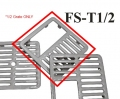 GSW Floor Sink Top Grate, 1/2 #FS-T1/2