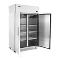 Atosa Reach-In Refrigerator Two-Section, Self-Contained Refriger