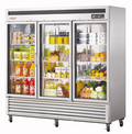 Turbo Air New Maximum Three Door Refrigerator - MSR-72G-3