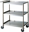 Turbo Air Shelf Bussing Cart 15 x 24 TBUS-1524