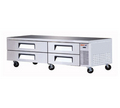 Turbo Air Four Drawer Chef Base - TCBE-82SDR
