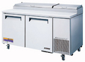 Turbo Air Super Deluxe Two Door Pizza Preparation Table - TPR-67