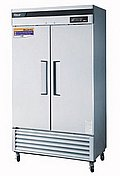 Turbo Air Super Deluxe 2 Door Refrigerator - TSR-35SD