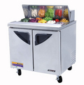 Turbo Air One Door Sandwich Prep Table - TST-36SD