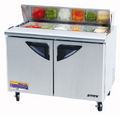 Turbo Air Two Door Sandwich Prep Table - TST-48SD