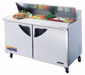 Turbo Air Two Door Sandwich Prep Table - TST-60SD