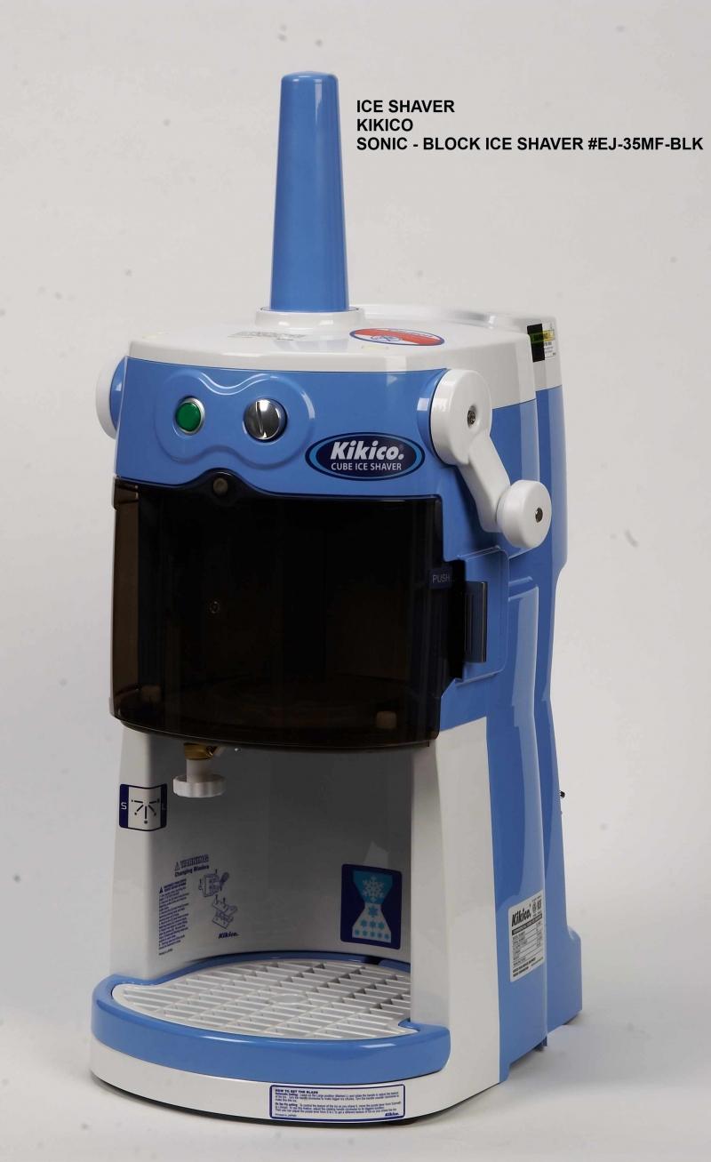 : Kikico Sonic Block Ice Shaver #EJ-35MF-BLK [EJ-35MF-BLK] -
